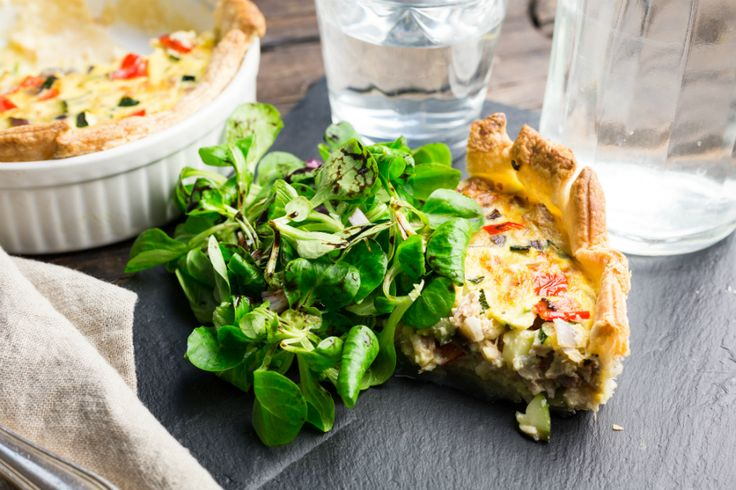 Tonijn quiche