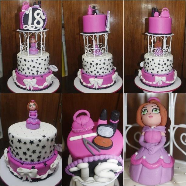 Design Of Debut Cake : Debut Fondant Cake #fondant #handmade #caketopper # ...
