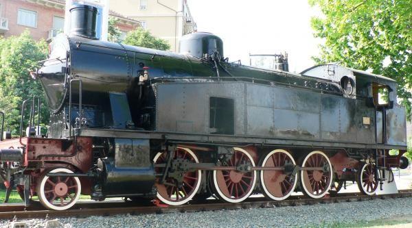 Una vecchia locomotiva - Torino