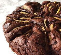 Torta integrale pere e cioccolato (Veganblog.it)