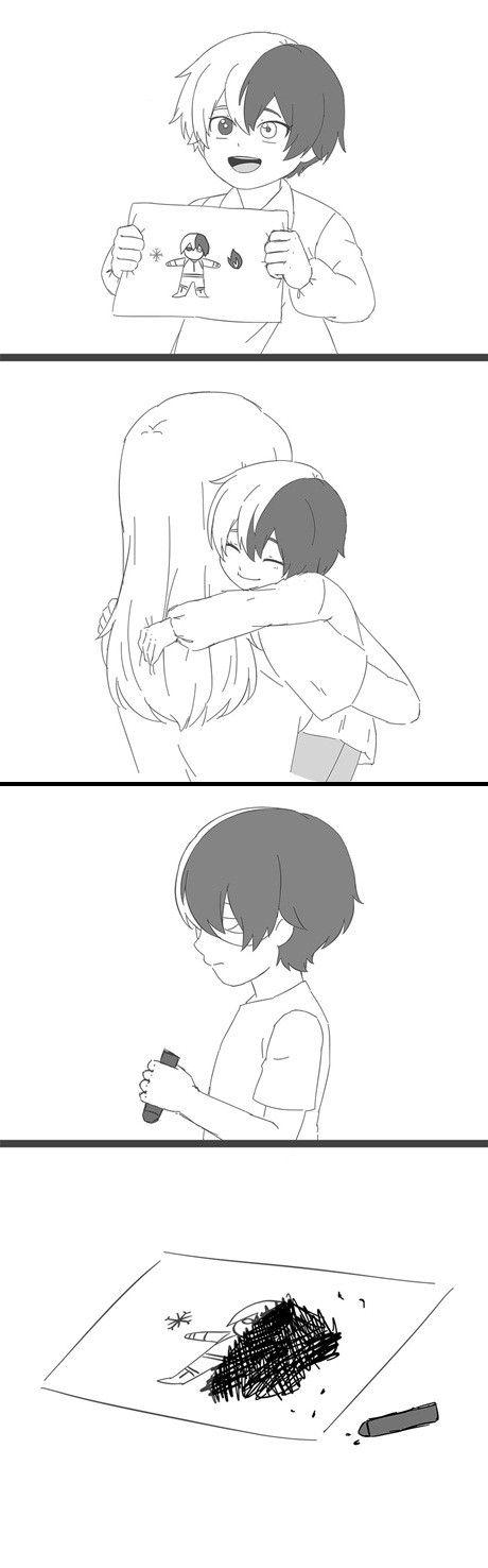 Shouto's Mother & Todoroki Shouto
