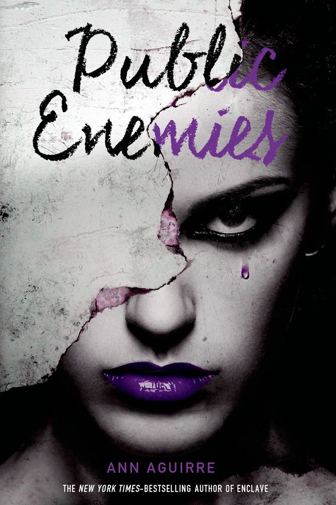 #CoverReveal Public Enemies (Immortal Game, #2) - Ann Aguirre