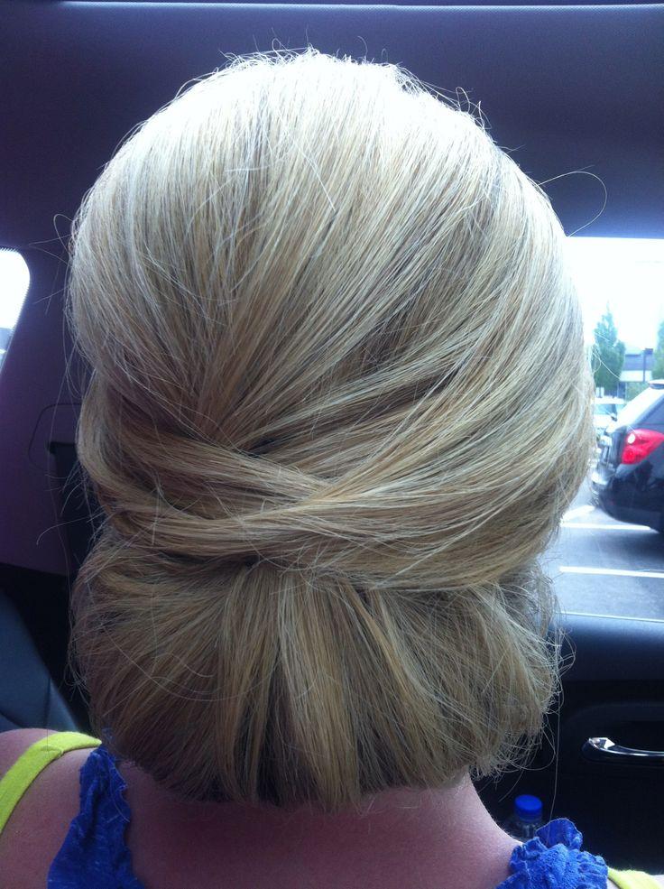 lori's wedding hair :)