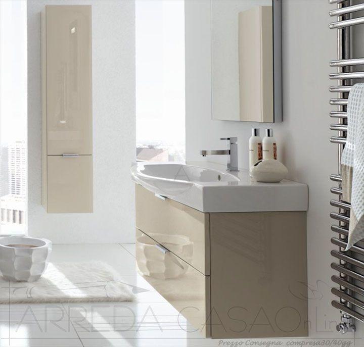 Oltre 1000 idee su arredo bagno rosso su pinterest bagni for Arredo bagno moderno economico