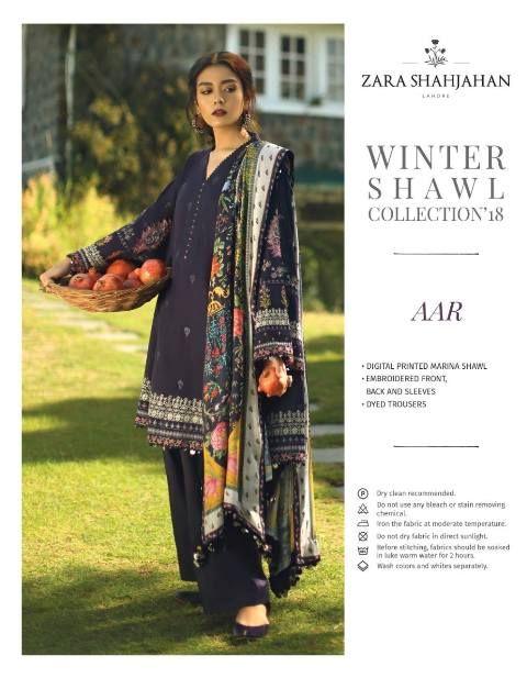 75deb8ae ZS Zara Shahjahan Winter Shawl Collection 2018 | Eastern & Western ...
