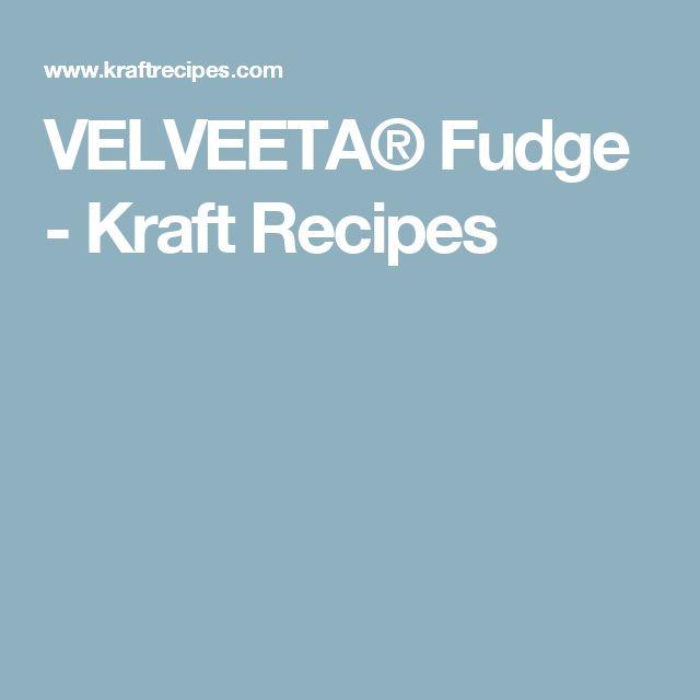 ... about Velveeta Fudge on Pinterest | Velveeta, Fudge and Fudge Recipes