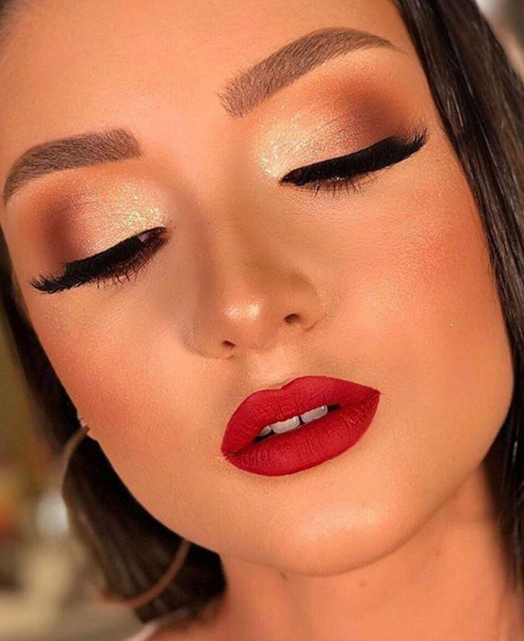 15 Makes Inspiradoras Para o Dia dos Namorados » Pausa para Feminices | Maquiagem natalina, Ideias de maquiagem, Tipos de maquiagem