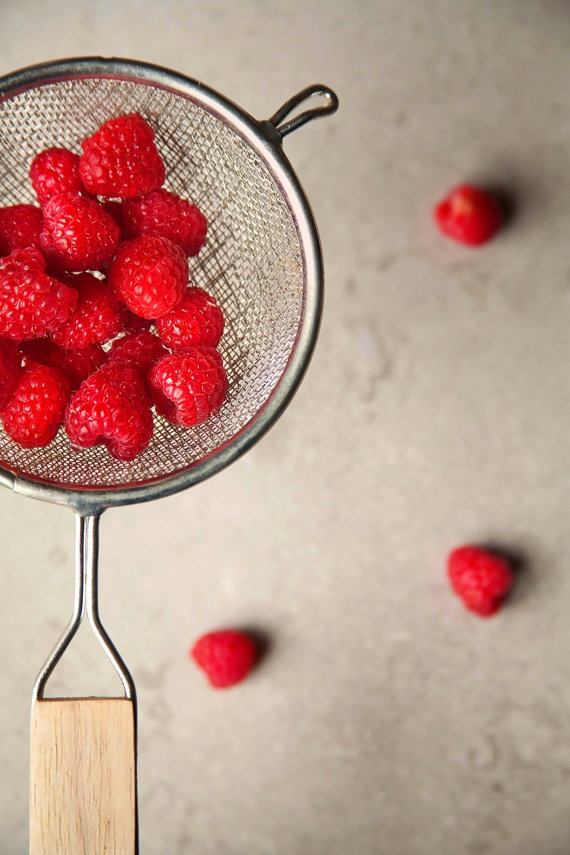 Food Photography #raspberries