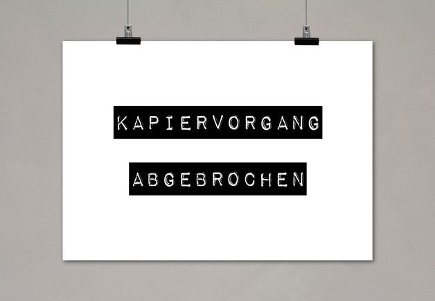 Typo Digitaldruck / typo artprint, wise words, fun words by Einsaushundert via DaWanda.com