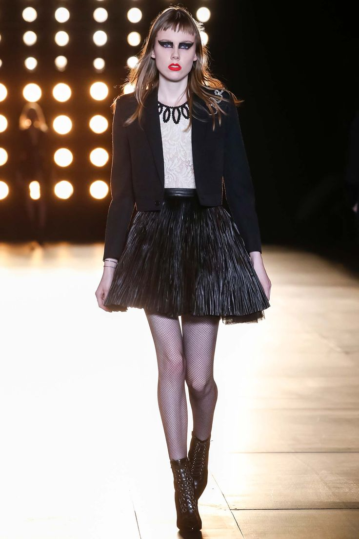 Saint Laurent - Fall 2015 Ready-to-Wear - Look 3 of 60