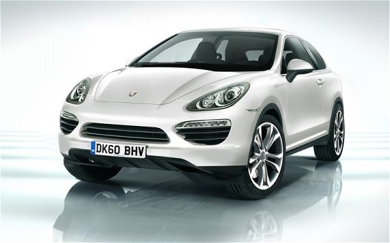 The Porsche Cajun: the Cayenne's baby brother. Awwww...