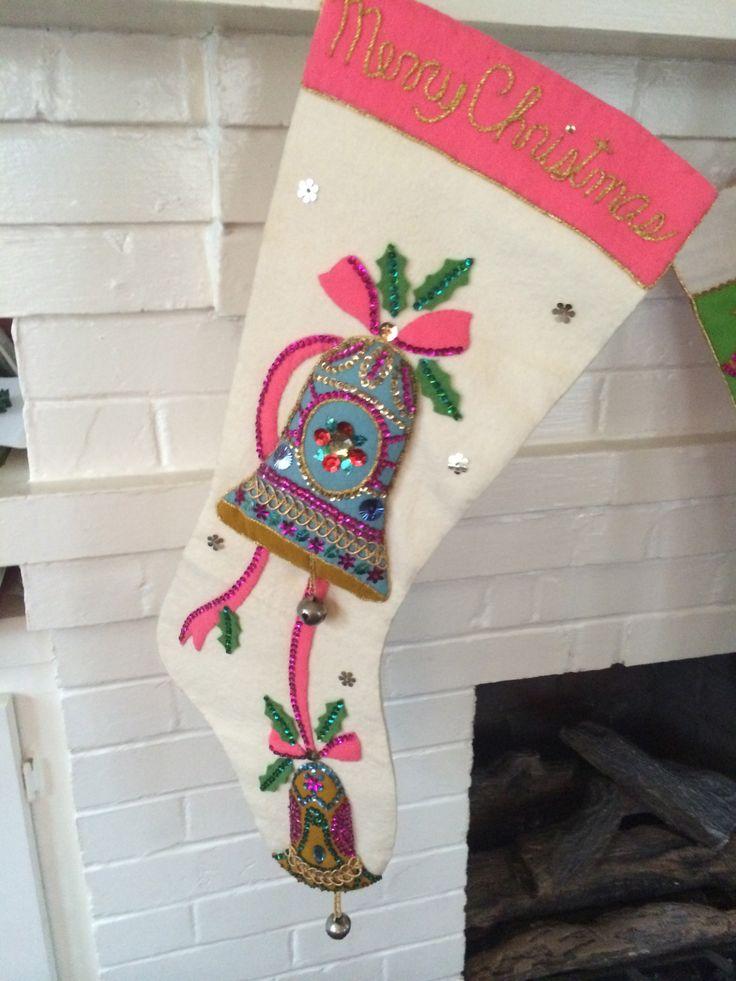 Bucilla Felt Applique Christmas Stocking Kits