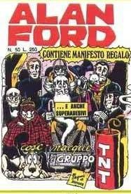 ALAN FORD- Italian comics