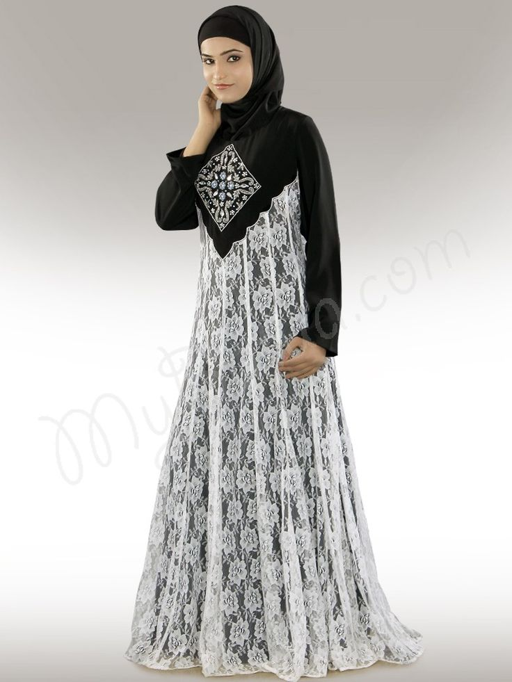 Shaista Abaya for $65.00- (Any Size, Any Length - We Customize)  Click Image to Buy and View Detail Online