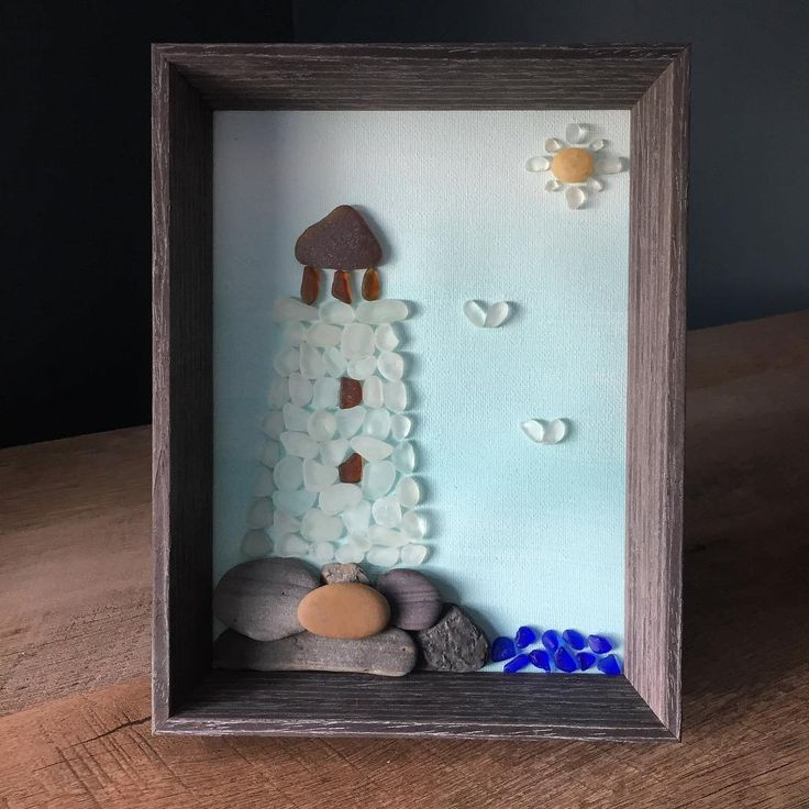 It's been a while since I've made a lighthouse! This one was custom ordered and is heading to its new home this weekend  #seaglass #seaglassart #seaglassartist #novascotiaseaglass #handcrafted #lighthouse