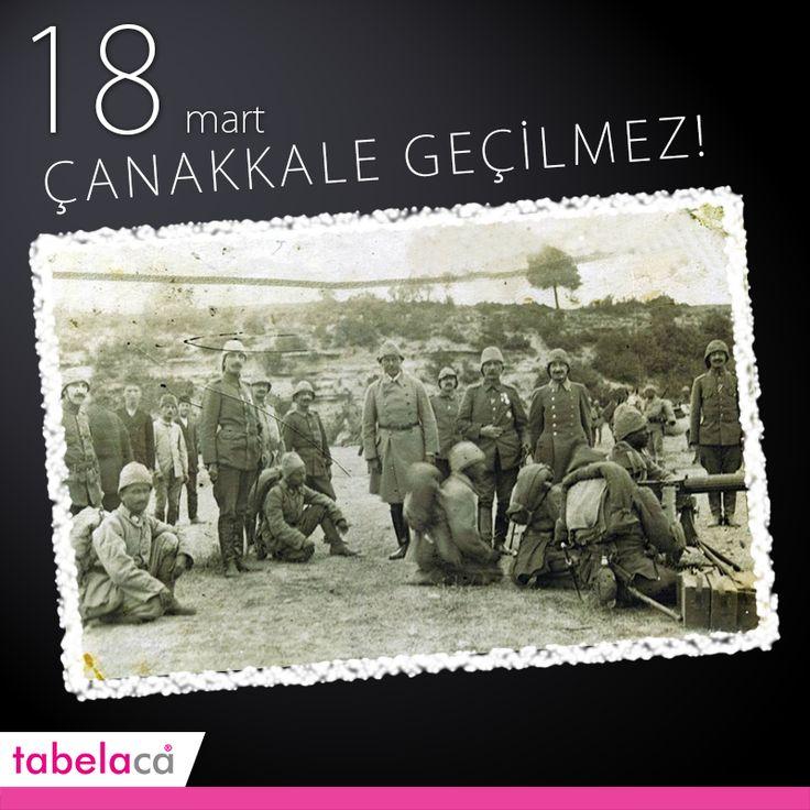 Çanakkale Zaferi Şehitlerini Saygıyla Anıyoruz! #18mart #canakkalezaferi #canakkaledestani