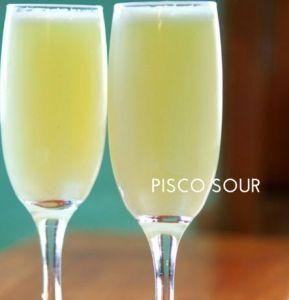 Peru Pisco Sour - Best Foodie Experiences