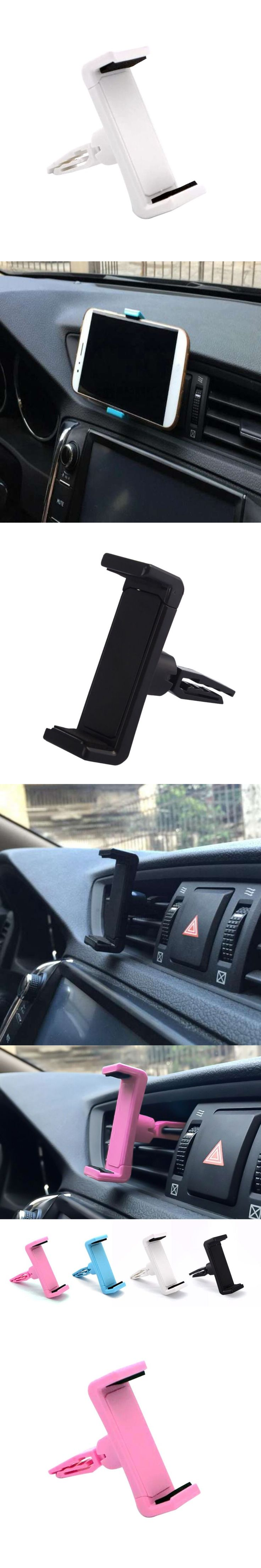 Universal Car Phone Holder 360 Rotate Car Holder For iPhone7 For Samsung Air Vent Mount Stand Phone Car Accessories