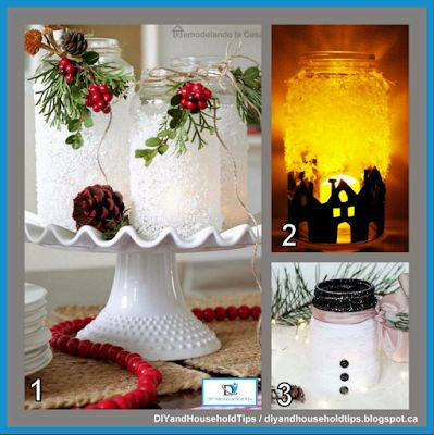 DIY And Household Tips: 3 Beautiful Christmas Luminaries