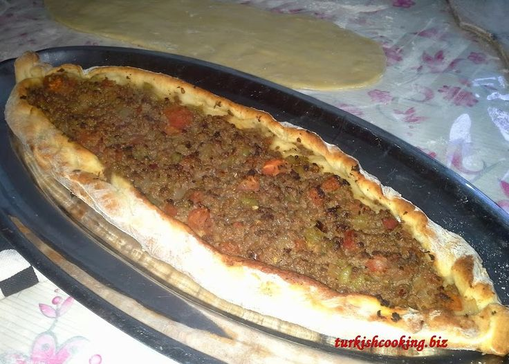 Turkish Pide is a well known dish in Turkey, with it bakes base and various filings its often described as Turkish Pizz. Find out how to make Turkish Pide at home and a lovely mince filling.
