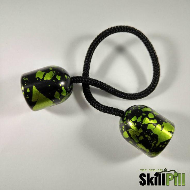 Skill Pill Begleri Magnetic (Green Splashed) Worry Beads Skill Toy Fidget Toy Stress Toy by TGPBegleri on Etsy https://www.etsy.com/listing/522095720/skill-pill-begleri-magnetic-green