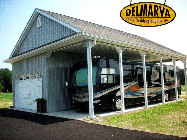 83 best images about rv barn on pinterest shelters for Pole barn for rv storage