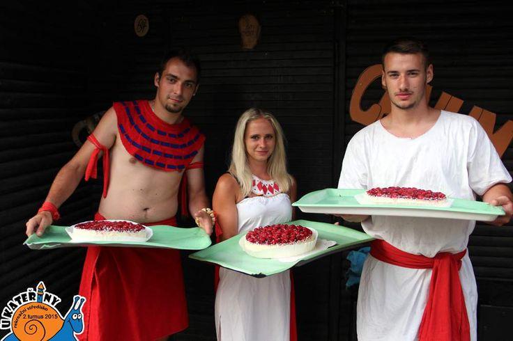 VYHRÁLI JSME !!! 3 červené dorty pro 3 červené oddíly ♥ ♥ ♥