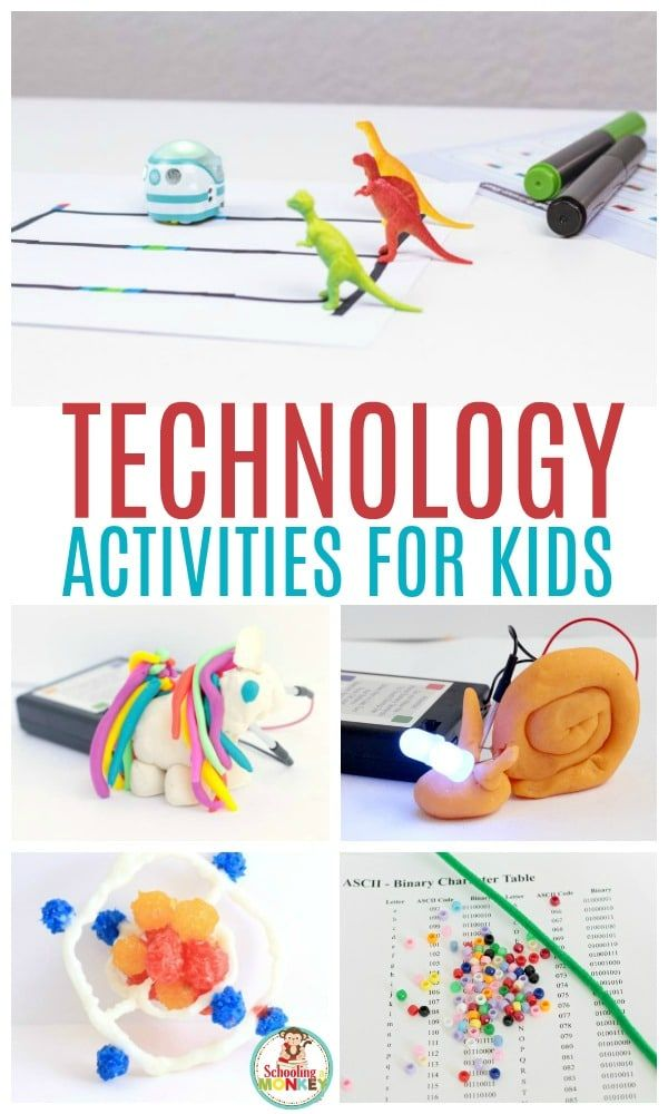 Technology activities for kids help prepare kids for life and encourage the deve…
