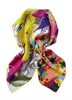 Kenzo Vierkante sjaal van 100% zijde