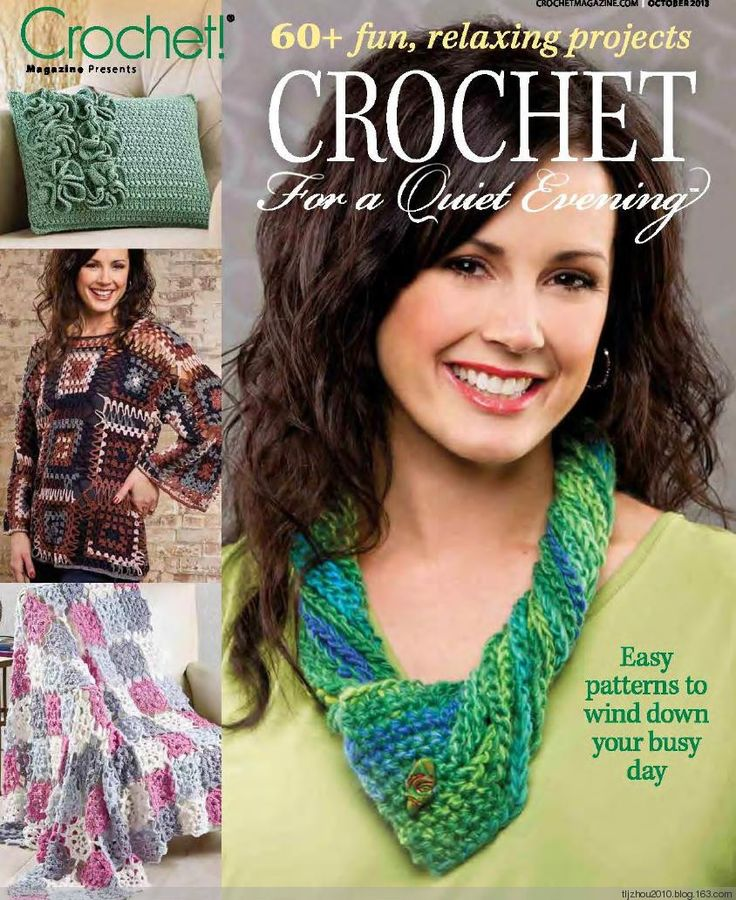 REVISTA  Crochet for a Quiet Evening No10 2013