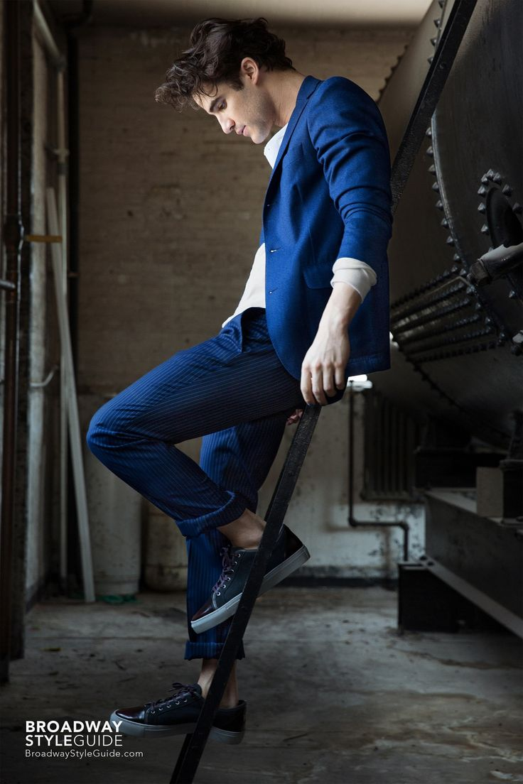Darren Criss for Broadway Style Guide | Set #1