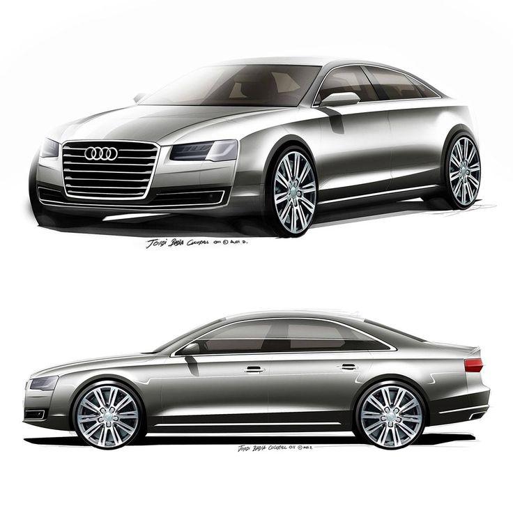 Audi A8 Audi Design Team