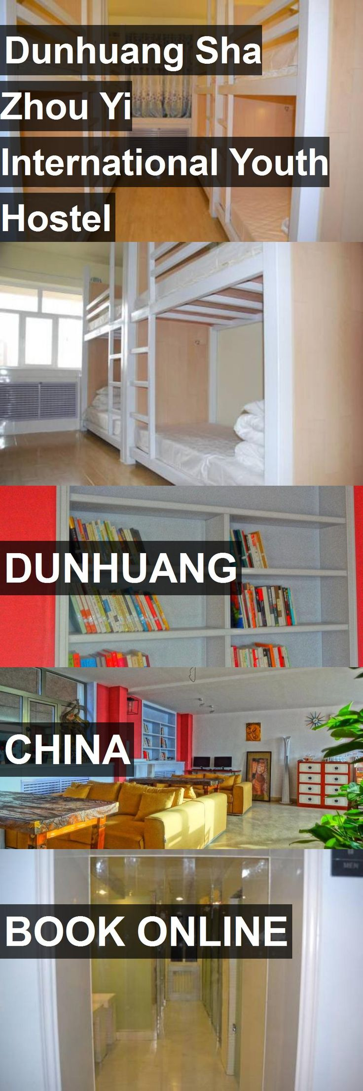 Dunhuang Sha Zhou Yi International Youth Hostel in Dunhuang, China. For more information, photos, reviews and best prices please follow the link. #China #Dunhuang #travel #vacation #hostel