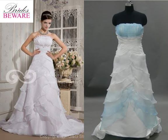 Perfect  Wedding Dresses Ordered Online That Look Nothing Like The Real Thing