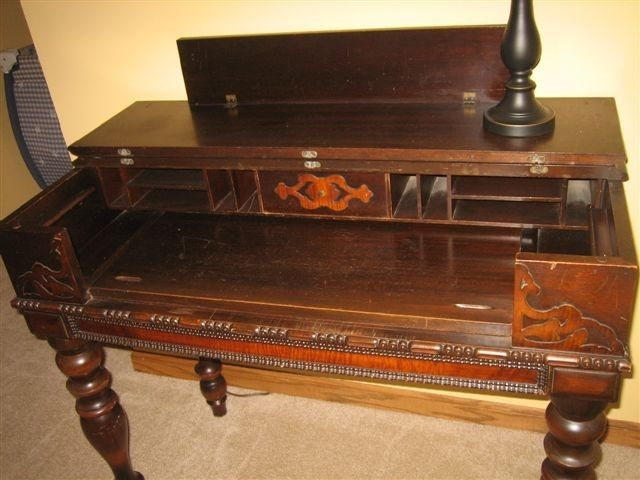 -General (Antiques): Writing Desk, antique - 96 Best Writing Desks Images On Pinterest Desks, Work Spaces And