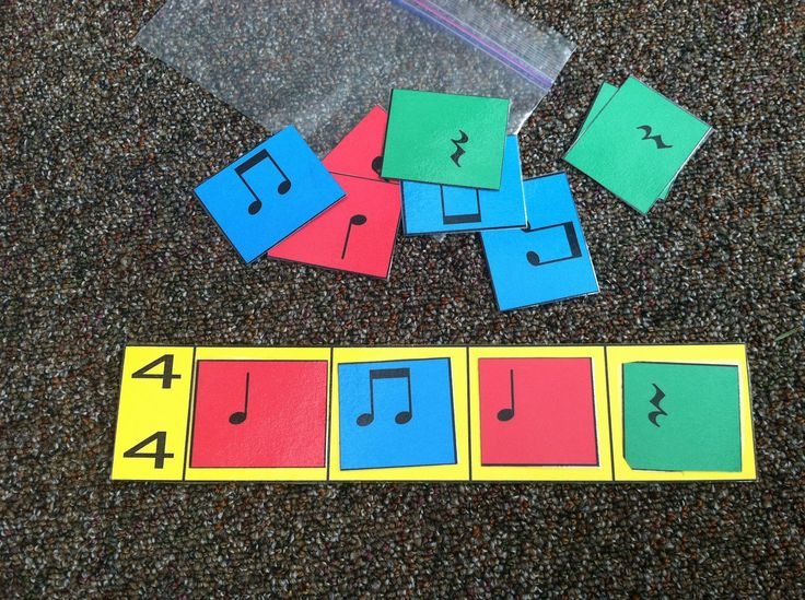 Perfect for dictation, assessment, composition! - Music a la Abbott: Beat Strips - manipulatives
