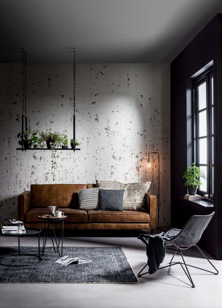 50 Most Phenomenal Industrial Style Living Rooms Small Apartment