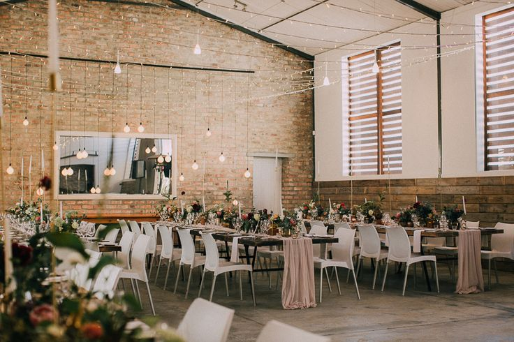 Rockhaven Wedding Venue in Elgin. Featured on my list of favourite wedding venues >> http://michelledt.com/wedding-venues-1/  Modern, industrial barn style wedding venue inspiration.