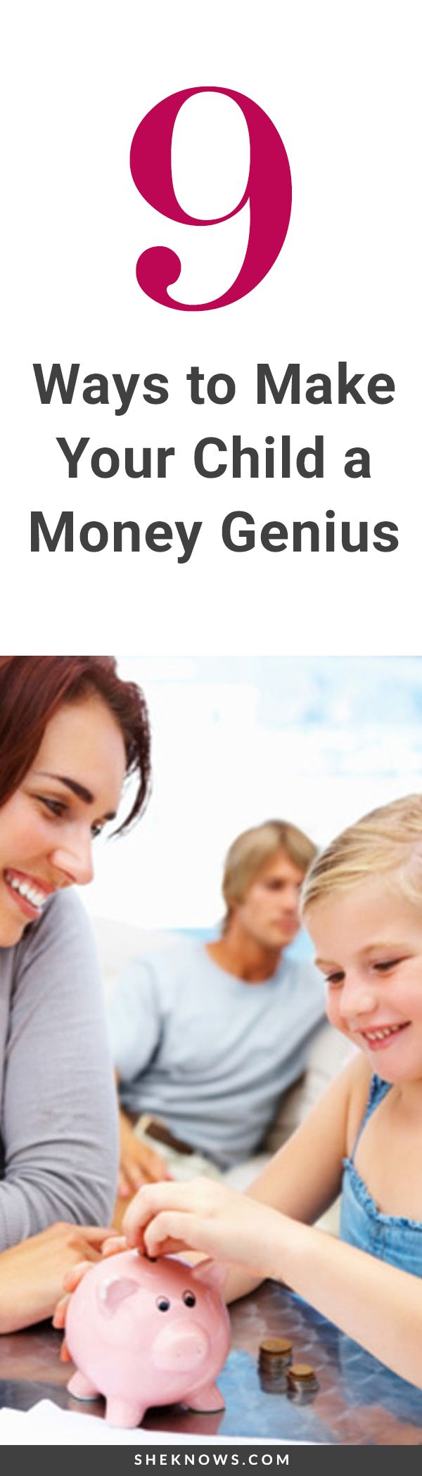 9 questions about parenting and money answered by Beth Kobliner, financial guru.