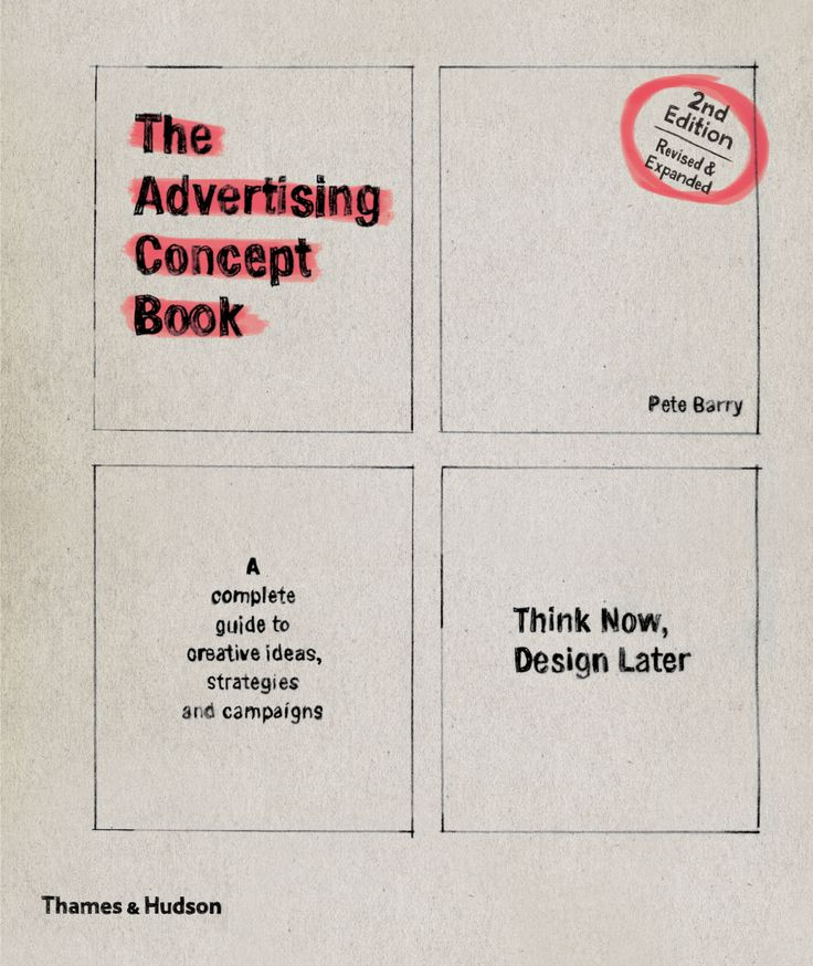 The advertising concept book by Pete Barry