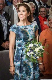 Royal Family Around the World: Crown Princess Mary of Denmark participating in the inauguration of the Psychiatry Hospital in Slagelse, August 24, 2015