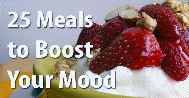 Tasty ways to feel good, fight stress, anger, depression, anxiety, boost alertness and energy.