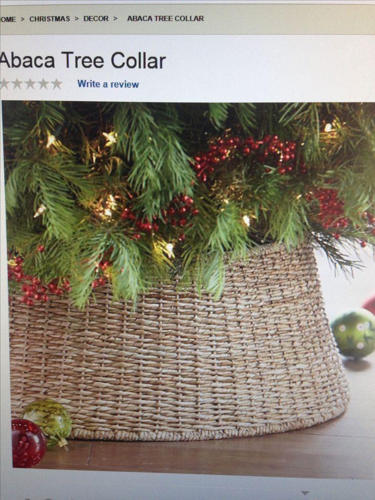Basket For Tree Collar Christmas Pinterest Trees