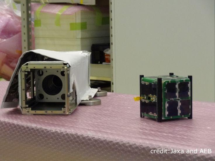 O cubesat AESP-14, apoiado financeiramente pela Agência Espacial Brasileira (AEB), foi lançado neste sábado (10) pelo lançador