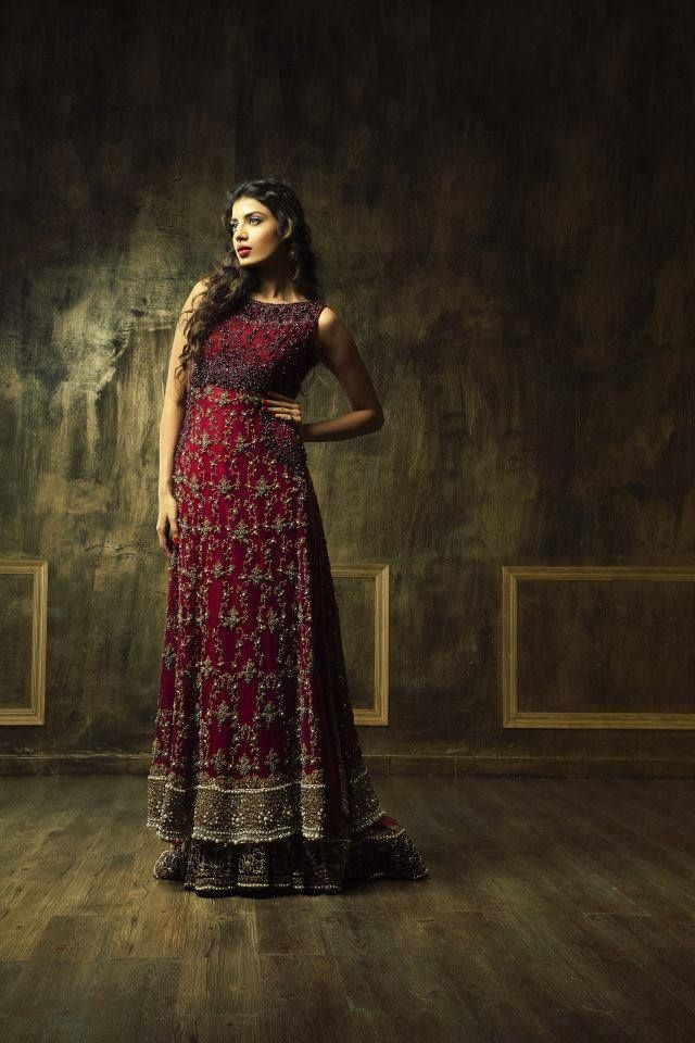 Pakistani Bridal Couture Wedding Dresses 2014 (15)
