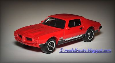 Modellautos Scale Model Cars: Matchbox Mattel 1971 Pontiac Firebird Formula 2015 Thailand from 5-Pack