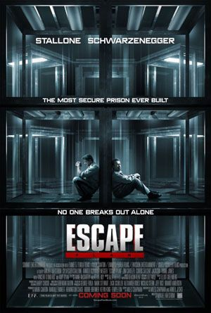"ESCAPE PLAN - Having grown up with the action movies of Stallone and Schwarzenegger, ""Escape Plan"" was a real treat. It was nice to see the guys back in action, and it reminds me of what popcorn movies were made of. Before every release had to make $50 million to $100 million just to break even, the multiplexes were filled with these movies. They were a bit disposable, but that didn't mean they weren't a hell of a lot of fun."