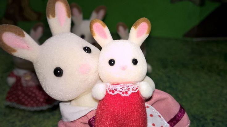 Sylvanian Families. Bebé conejo chocolate