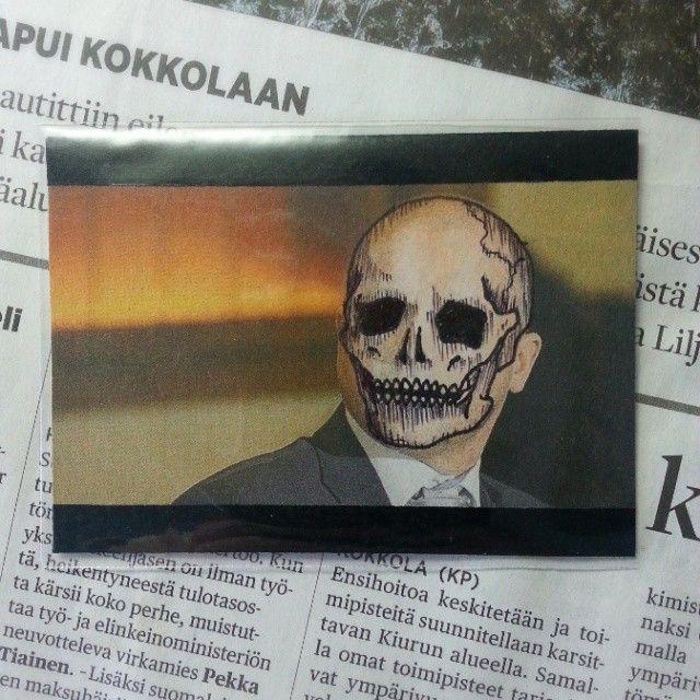Skull-themed ATC