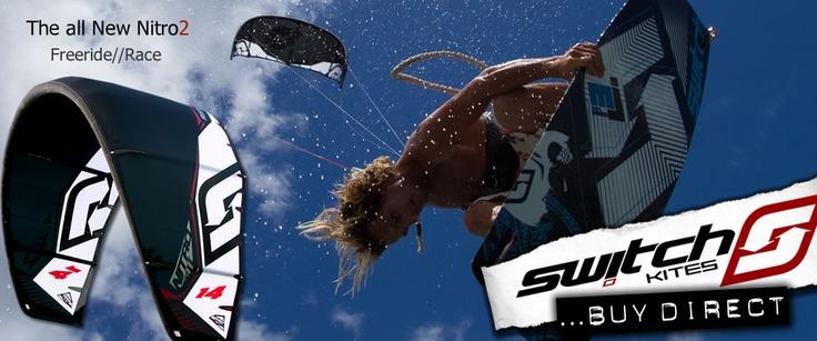 Switch Kites - Nitro2   #Kitesurfing #Kiteboarding #Gear #Nitro2 #SwitchKites